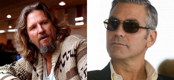 The Dude vs The Sexiest Man Alive (6 gifs)