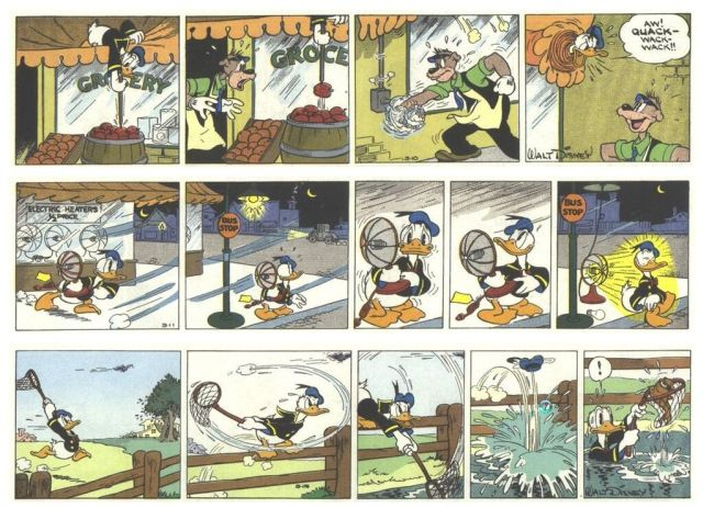 The Adventures of Donald Duck (28 pics)