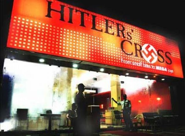 Hitler Asian Restaurants (11 pics)