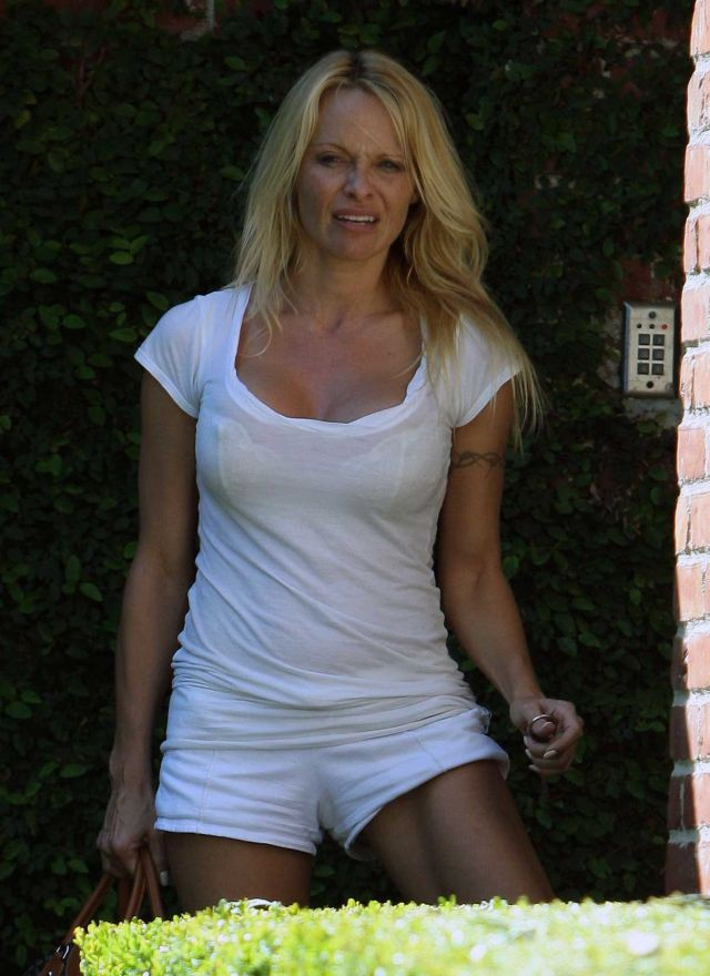 Pamela Anderson Is Not That Young Anymore (9 pics)