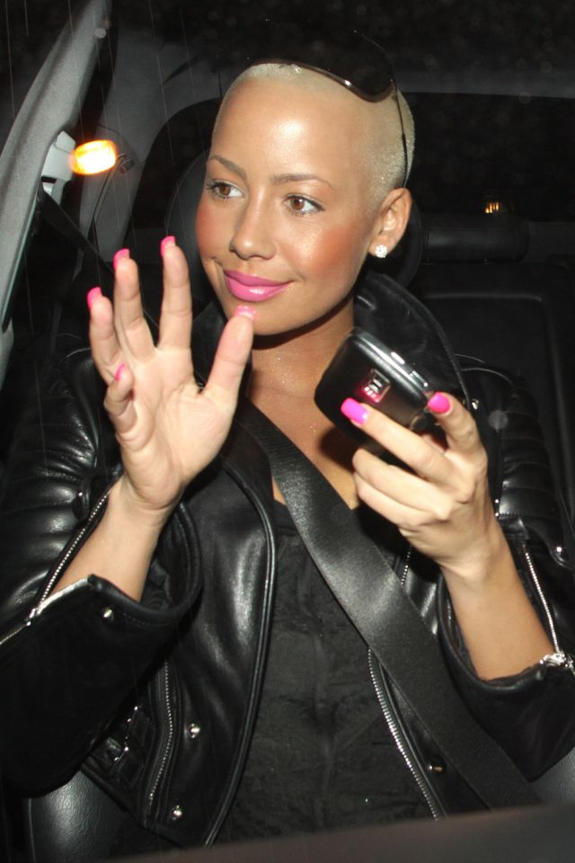 Amber Rose, Somehow There's Something Attractive in Her (7 pics)