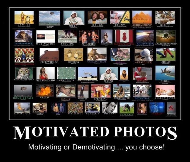 Funny Demotivational Posters. Part 4 (54 pics)