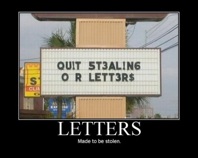 Funny Demotivational Posters. Part 4 (54 pics)