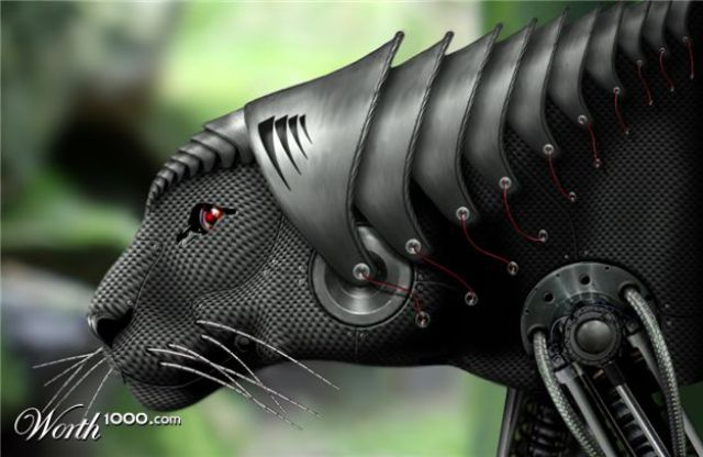 Futuristic Animals (43 pics)