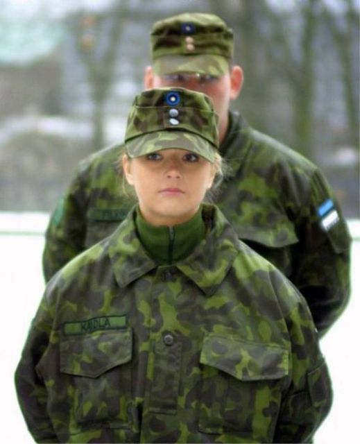 Women In Military (48 pics)
