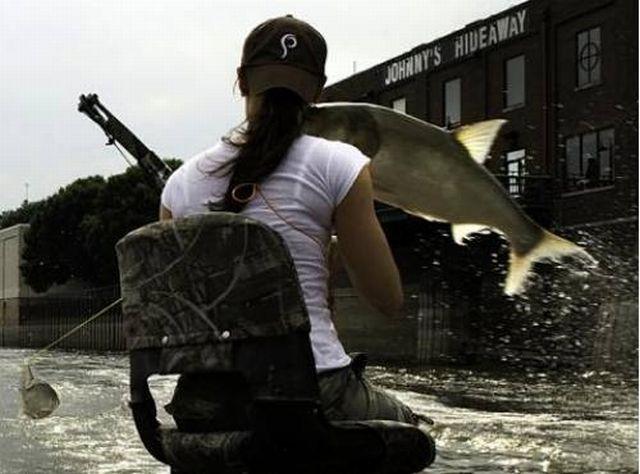 Bow Fishing Goes Wrong… (9 pics)