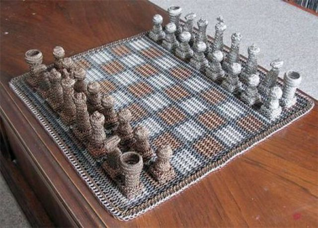 A Collection of Great Chess Boards (67 pics)