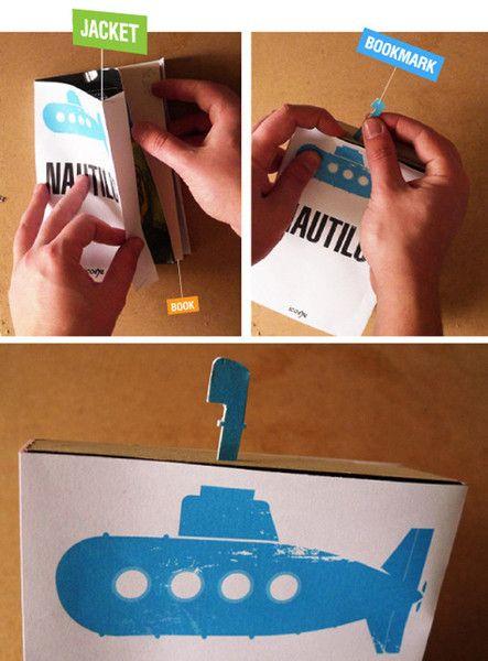 Creative and Amusing Bookmarks (8 pics)