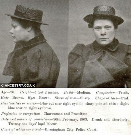Mugshots of Some Oldtime Drunks (22 pics)