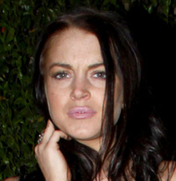 Lindsay Hits Rock Bottom Again (6 pics)