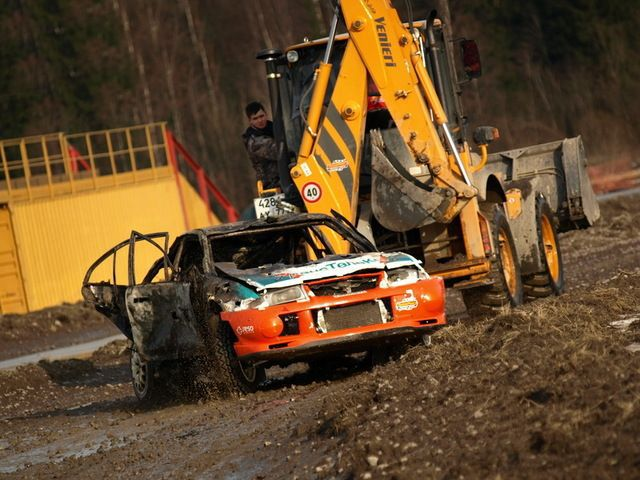 Rally Evo Burning Alive (32 pics)