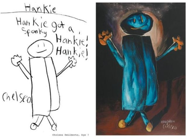 Children's Drawings Come to Life (12 pics)