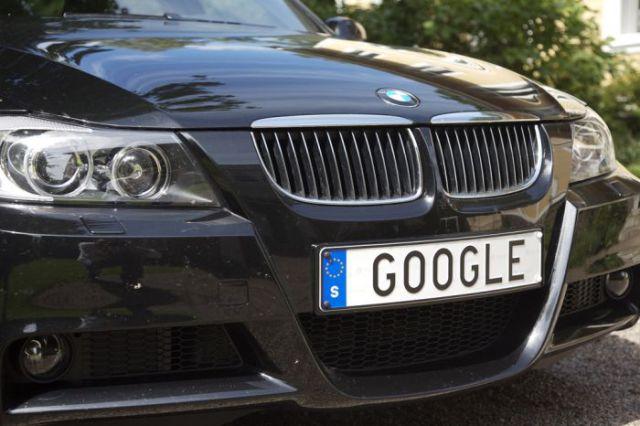 Web-Geek License Plates (16 pics)