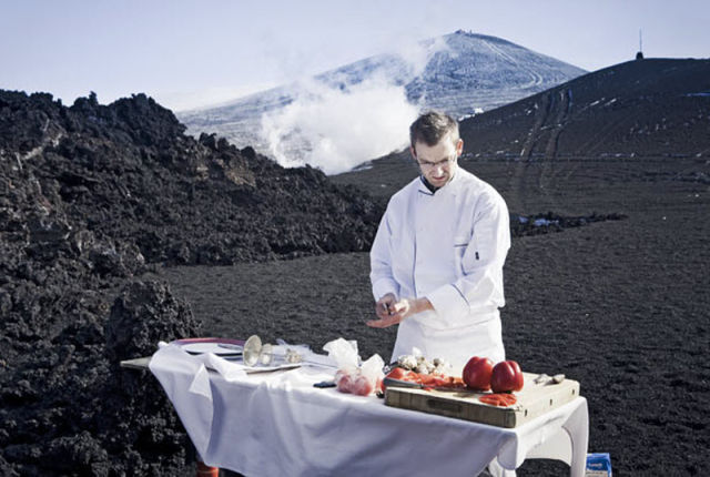 Cooking on Lava Heat (10 pics)