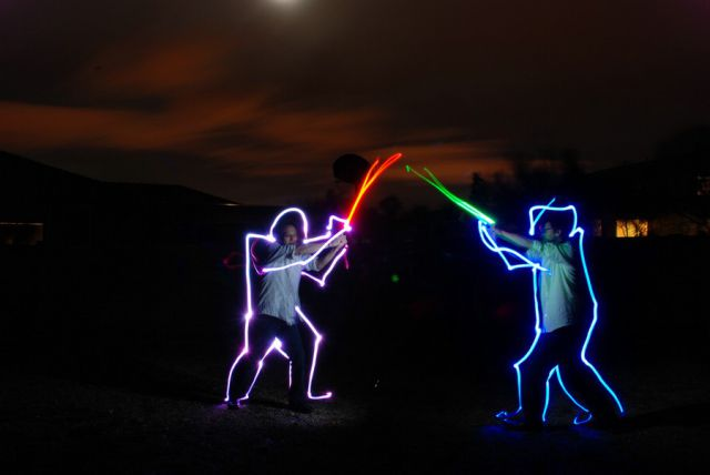 Awesome Drawings by Light (51 pics)