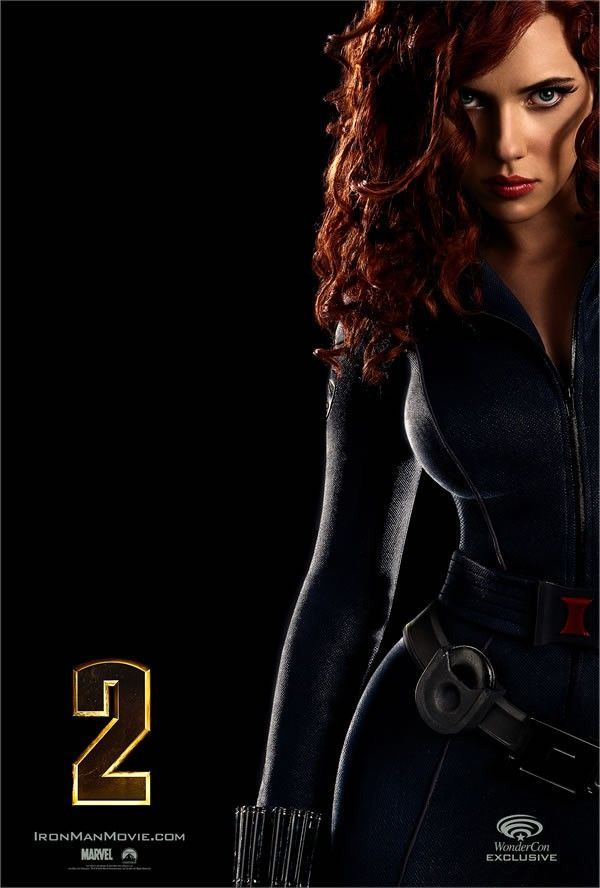 Pictures from Photoshoot of Scarlett Johansson for the Upcoming Iron Man 2 (11 pics)