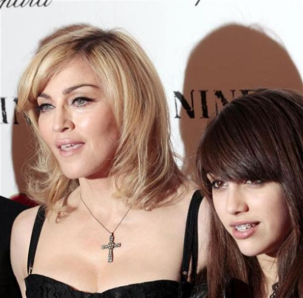 Madonna with her Children (12 pics)