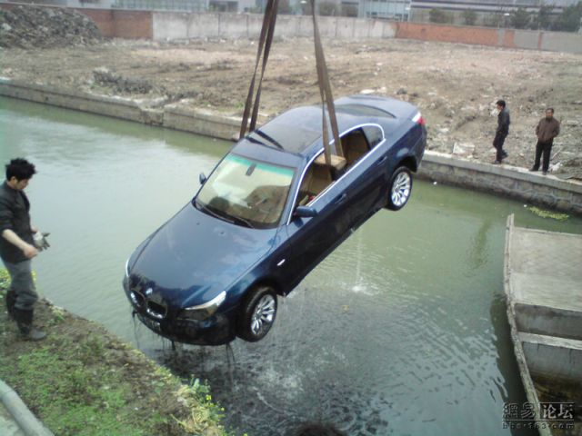 """""""Fishing"""" for a BMW (12 pics)"""