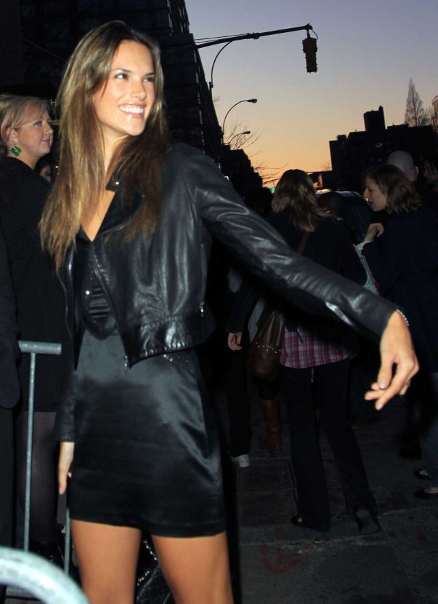 Alessandra Ambrosio, Perfect as Usual (9 pics)