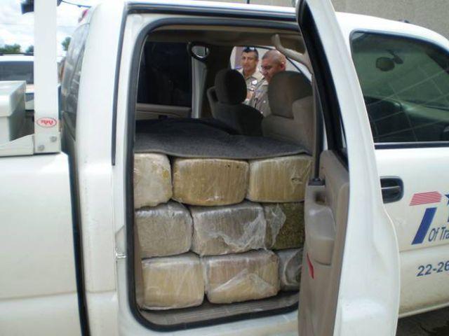 """Marijuana"" DOT Truck (7 pics)"