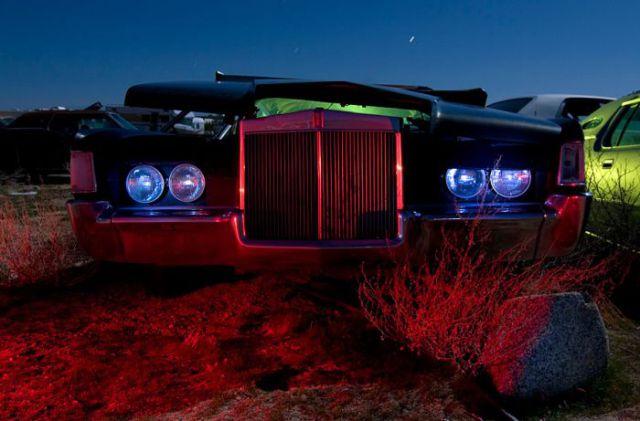 American Cars Left Alone (42 pics)