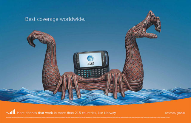 Innovative Promotion by AT&T (23 pics)