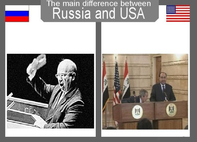 Main Differences between Russia and the USA (28 pics)