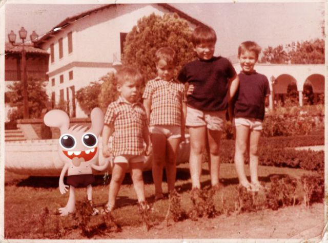 Adding Monsters to Old Images (50 pics)