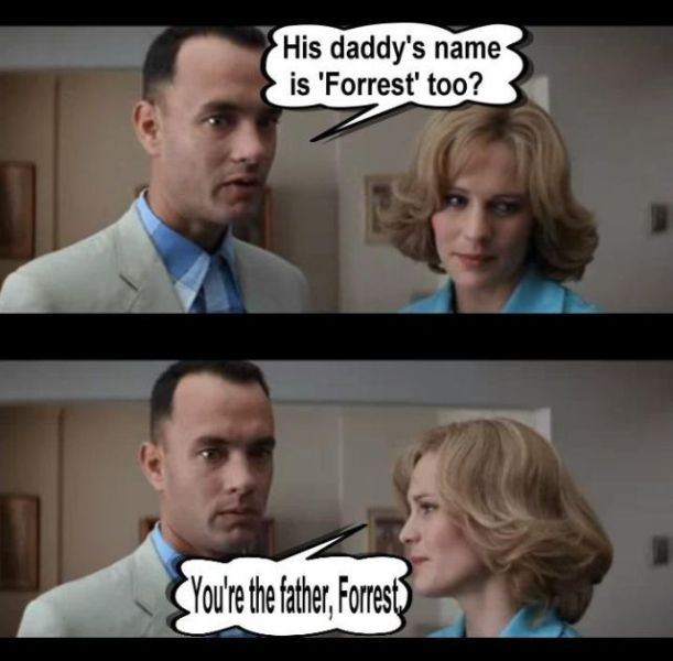 Funny Alternative Ending of Forrest Gump (10 pics)