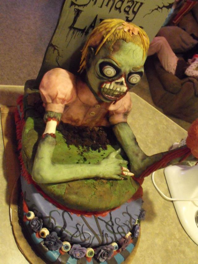 Zombie Cake 16 Pics Izismile Com