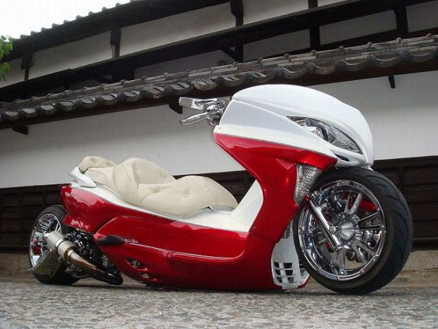 Crazy Japanese Bike Designs (30 pics)