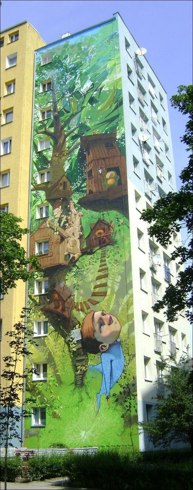 Creative Wall Painting (2 pics)