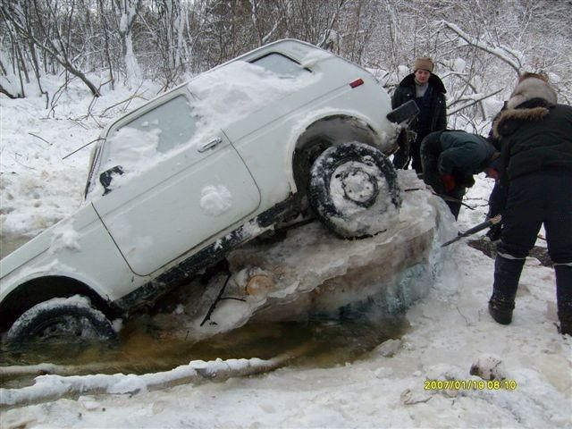 How to Kill a Car Quickly in Winter (5 pics)