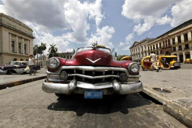 Take a Vintage Ride in Cuba (32 pics)