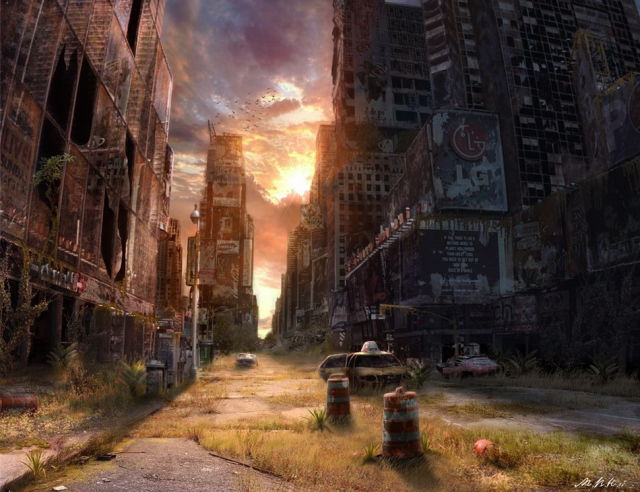 Post-Apocalyptic Illustrations (17 pics)