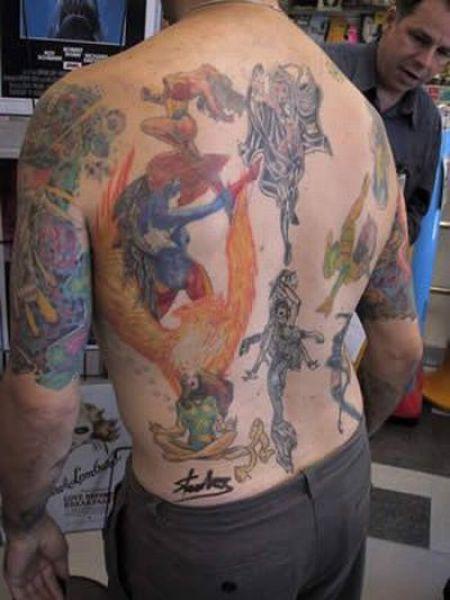 Superhero Body Art (68 pics)