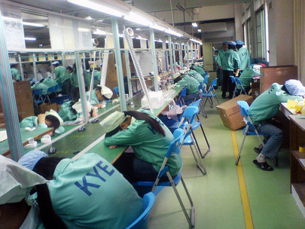 Slaves at Chinese Factory That Produces for Microsoft (17 pics)
