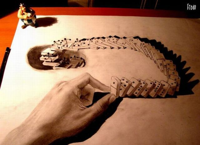 Cool 3D Pencil Art (21 pics)