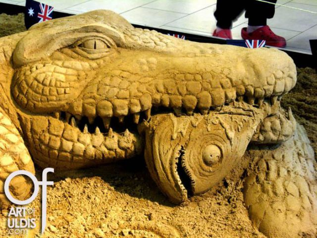 OMG! The Best Sand Sculptures Ever!!! (34 pics)