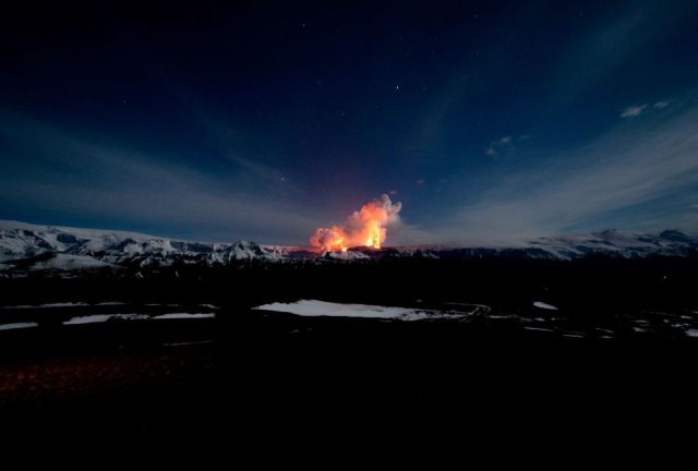 This Volcano Has Stopped the Whole World (34 pics)