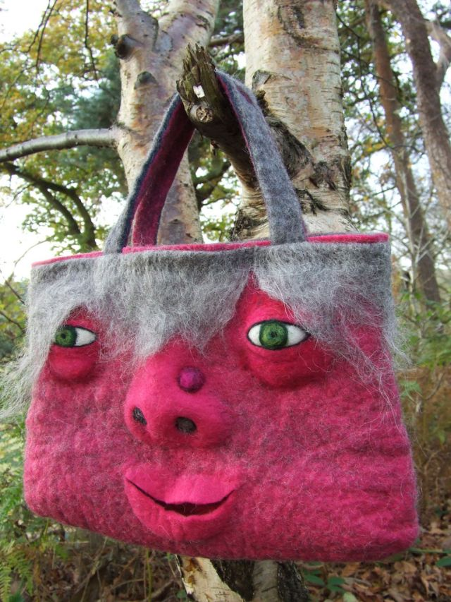 Felted Monster Bags (13 pics)