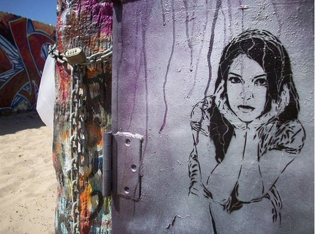 "Great ""Face"" Graffiti (18 pics)"