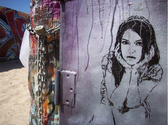 """Great """"Face"""" Graffiti (18 pics)"""