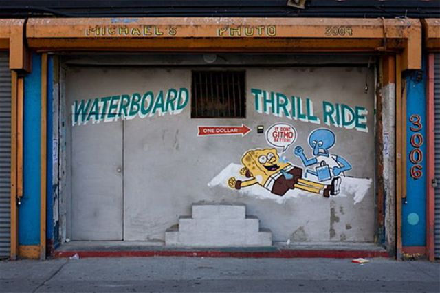 Waterboard Thrill Ride at Coney Island (6 pics)