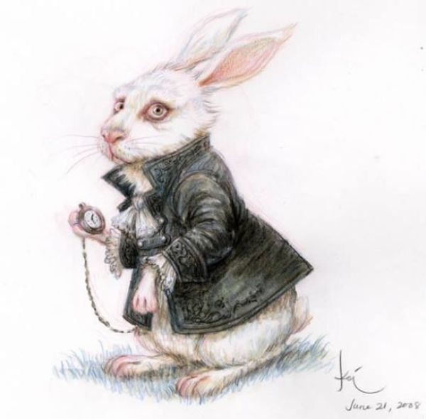 "Concept Art from ""Alice in Wonderland"" (20 pics)"