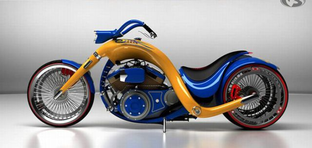 Great Chopper Concepts from Russia (29 pics)