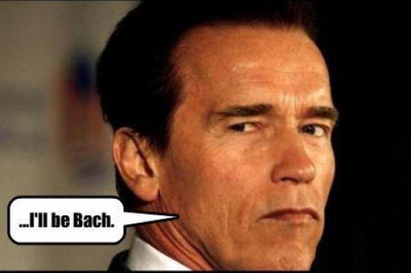 Arnold Becomes Bach (5 pics)
