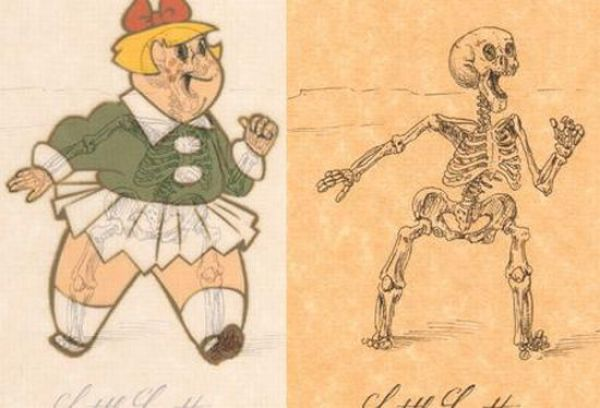 Funny Anatomy Of Cartoon Characters 21 Pics Picture 3