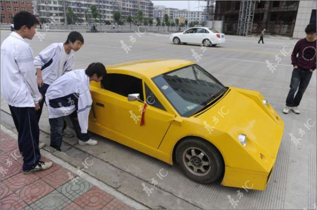 "Mobil sport ""lamborghini"" buatan sendiri"
