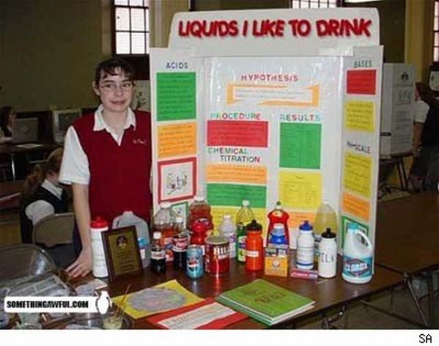 Funny Science Fair Projects 30 Pics Picture 18